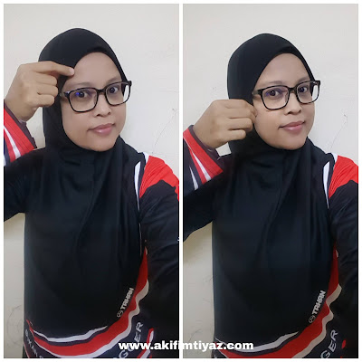 Tahan Instant Sport Hijab Easy To Wear Easy To Handle