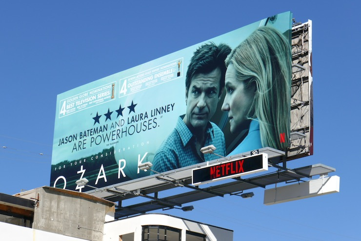 Ozark 2021 nominee billboard