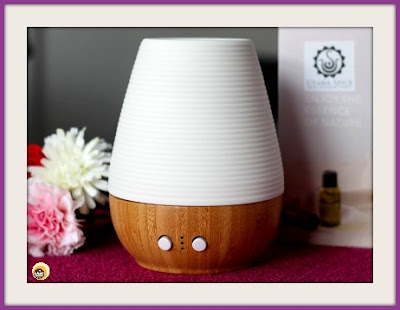 Utama spice sonoma Yi aromatherapy diffuser lamp, utama spice website review and haul