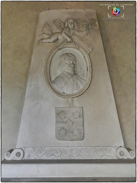 NANCY (54) - Musée lorrain : Monument à Jacques Callot