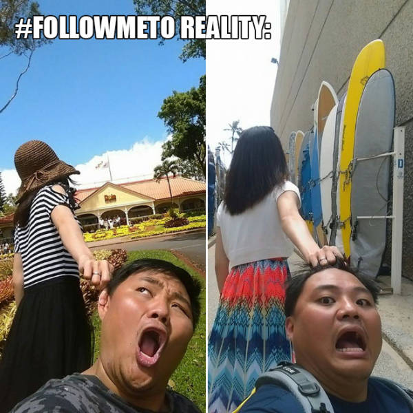 Follow Me: Expectations vs Reality (42 pics)