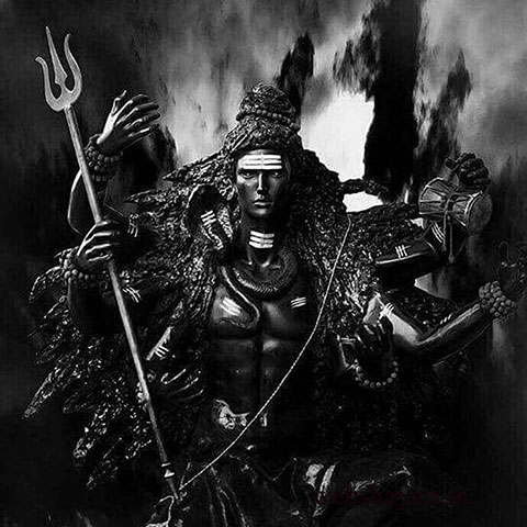 black lord shiva image hd