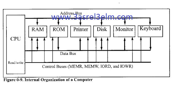 الفرق بين data bus و address bus