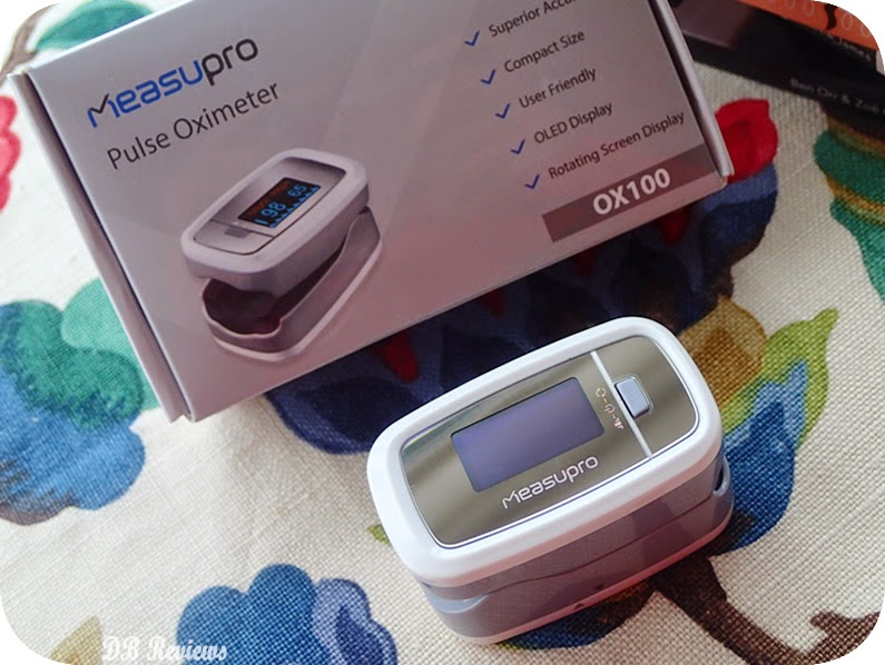 The MeasuPro Instant Read Pulse Oximeter
