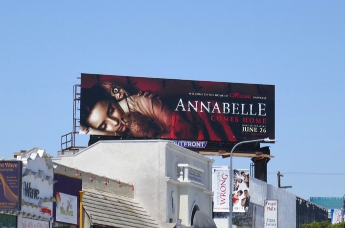 Annabelle Comes Home billboard