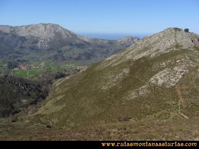 Ruta Ardisana, pico Hibeo: Descendiendo a Collau Braniella