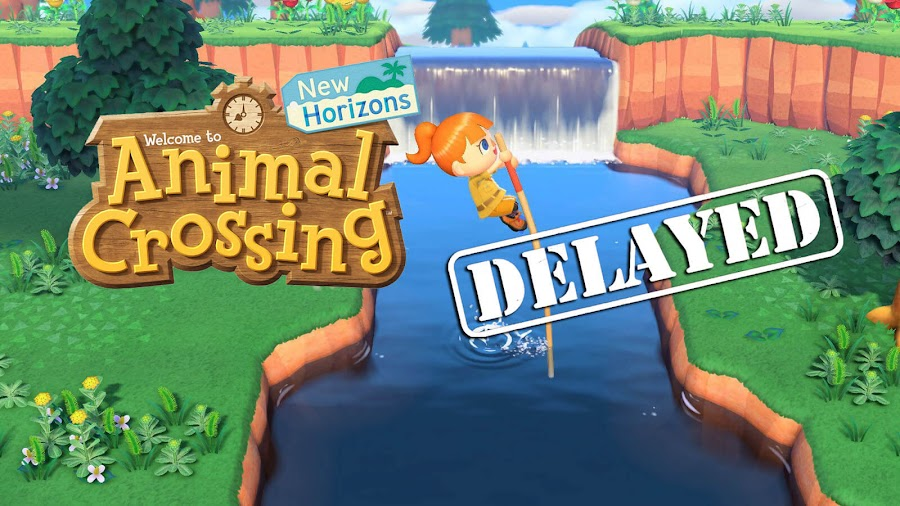 animal crossing new horizons nintendo switch delayed 2020 crunch time