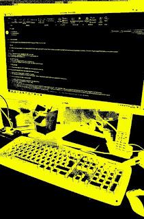 Computer-Tastatur, Bildschirm und Maus