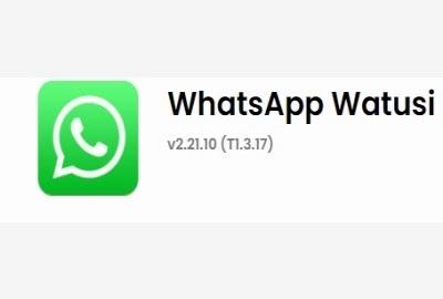 تحميل WhatsApp Watusi لاجهزة الايفون وحل مشكلة الاشعارات
