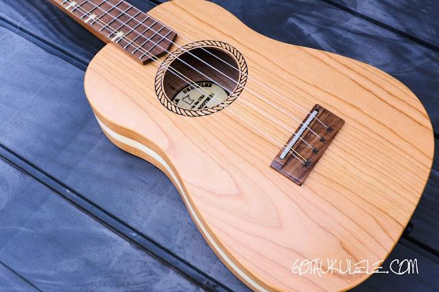 Bonanza 5 String Tenor Ukulele body