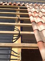 retours et nourrice pour tuile solaire  thermique Caleosoleil par Absolut Toiture