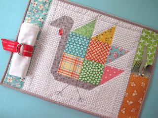 Quilt Inspiration: Free pattern day ! Thanksgiving : turkey quilt block - Adamdwight.com
