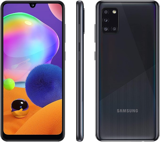 موبايل Samsung Galaxy A31 رام 6 ذاكرة 128 جيحا بسعر 4099 جنيه على نون مصر