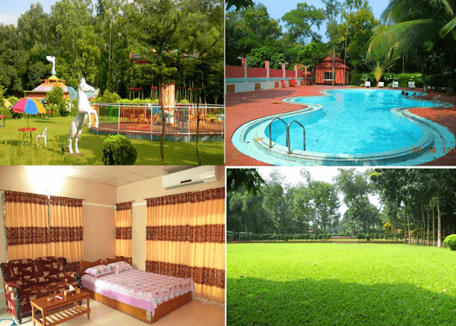 Sabah Garden Resort In Gazipur, lrb travel team