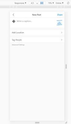 Cara Upload Foto Instagram Tanpa Smartphone/Emulator
