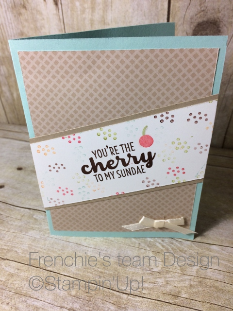 Cool treats Stampin'Up!