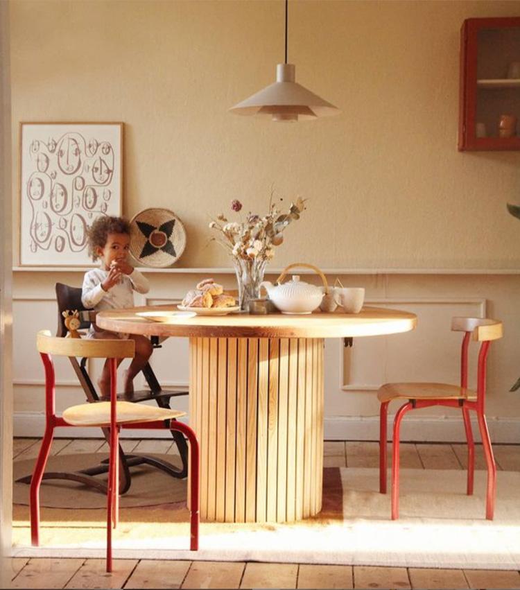 Warm Earthy Tones In An International Family Home in Denmark