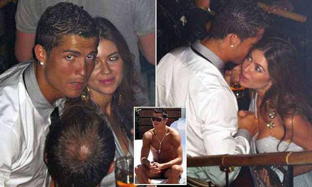 Ronaldo e la Mayorga. Foto: Dagospia.