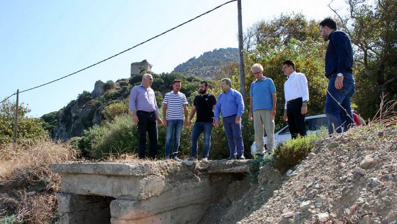 Επίσκεψη κλιμακίου της Περιφέρειας ΑΜ-Θ στη Σαμοθράκη