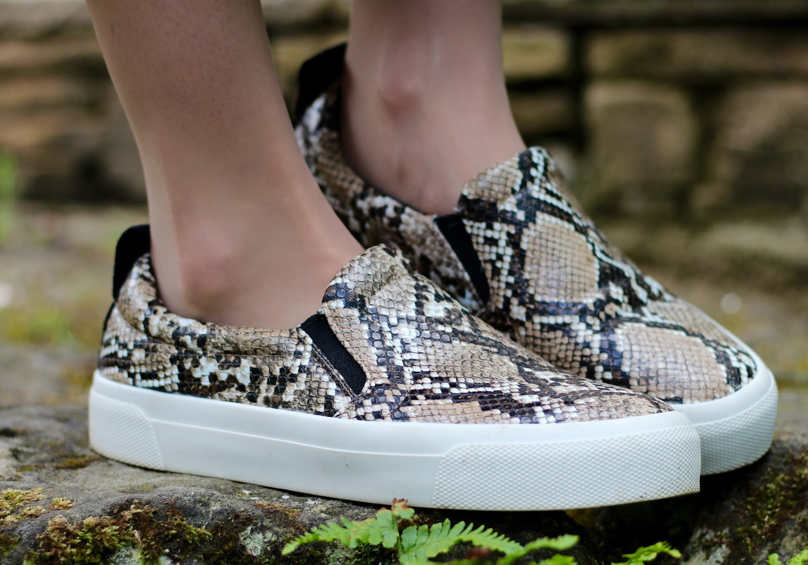 Zara Snake print trainers | Fake Fabulous | Over 40 style
