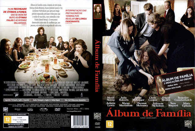 Capa DVD Álbum de Família