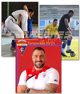 Angel Parra Judo Fútbol Aranjuez