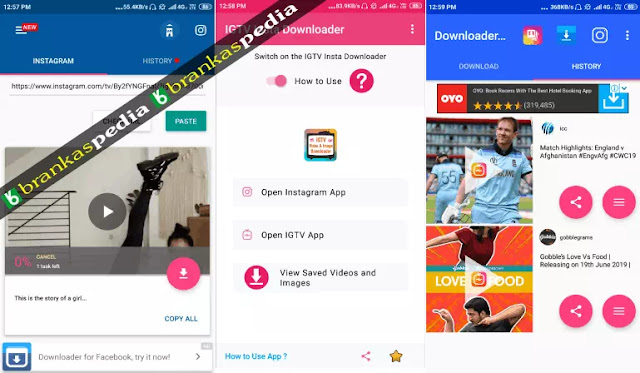 aplikasi download video IGTV terbaik Android