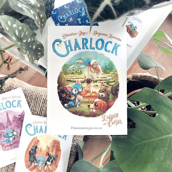 Roman jeunesse : Charlock - L'affaire du collier