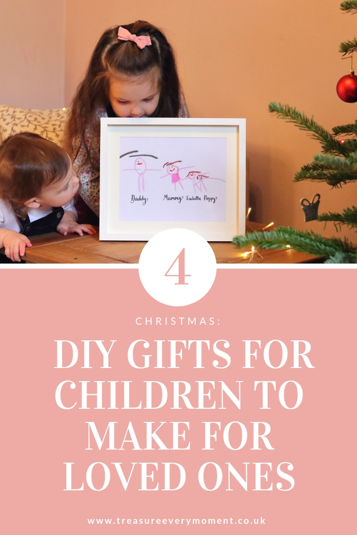 CHRISTMAS: 4 DIY Gifts for Children to Make for Loved Ones