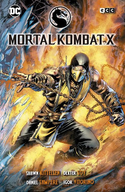 Review de MORTAL KOMBAT X de Shawn Kittelsen, ECC Ediciones.