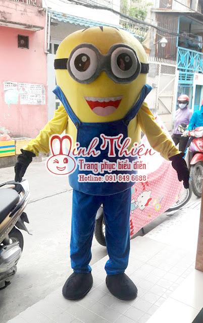 Cho Thuê Linh Vật Biểu Diễn Mascot Minion Tphcm