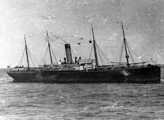 SS Californian on the morning after Titanic sank