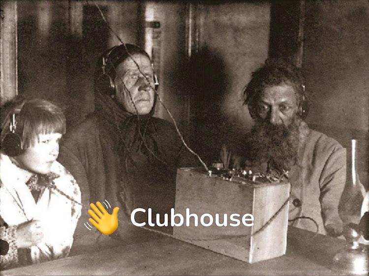 Clubhouse изобретает радио