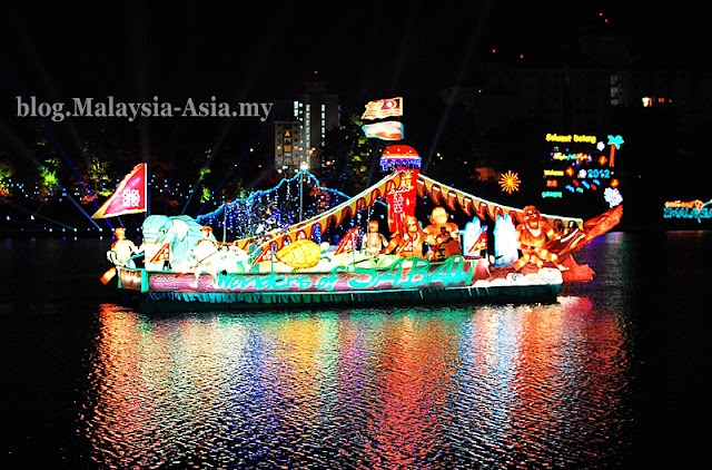 Float of Sabah Tourism