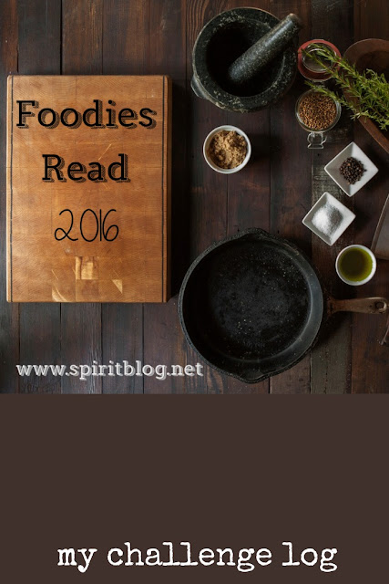 Foodies Read 2016: My Challenge Log