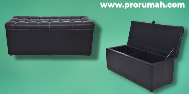 Jenis-jenis Furniture Untuk Hunian Modern - bangku ottoman lipat