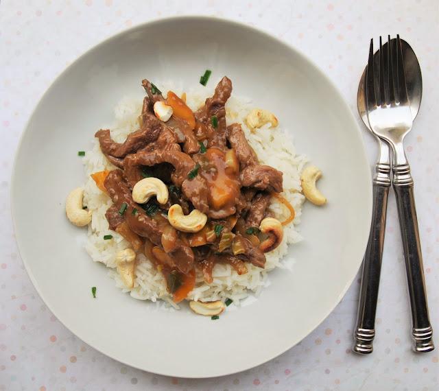 Bœuf aux oignons et aux navets à l'asiatique