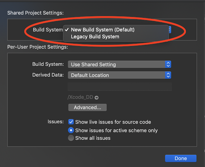 Xcode - New build system explained