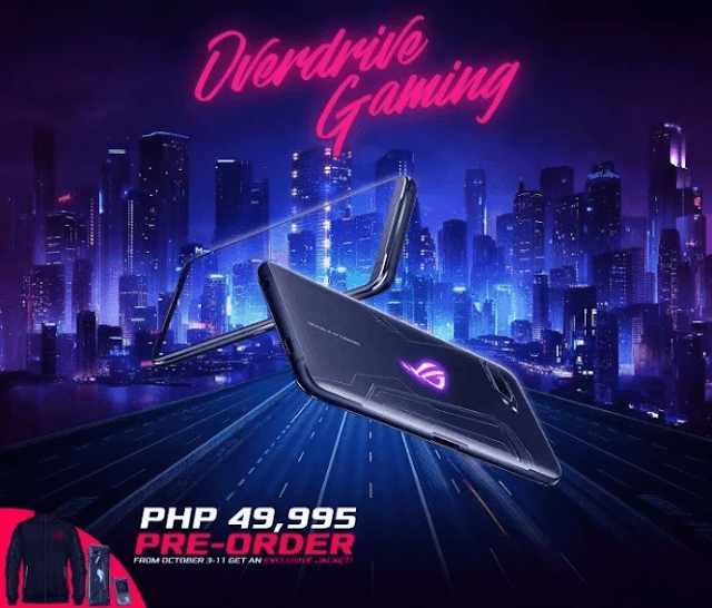 ASUS ROG Phone 2 officially priced in the Philippines