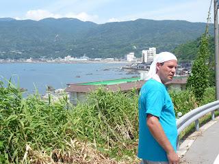 七浦海岸から相川へ