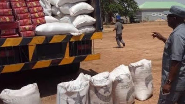 Customs seize 42 bags of foreign rice in Katsina