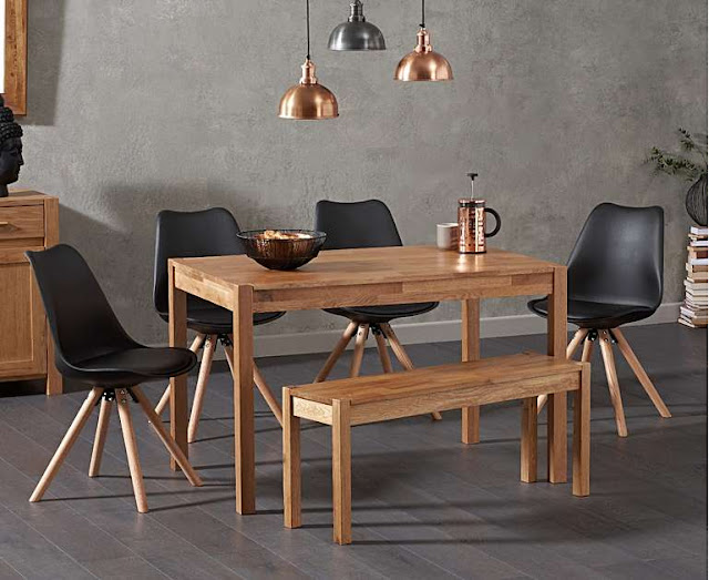 A dining room set with chairs and a bench seat is one option but how do you choose the right dining set for your family?