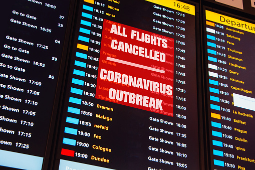 flight cancelled status during covid-19 and how to get refund of flight tickets