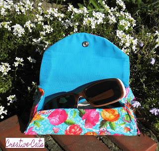 Tasche für Sonnenbrille nähen