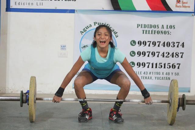 De forma virtual, halteristas de Yucatán participan en el el Torneo Nacional del Pavo