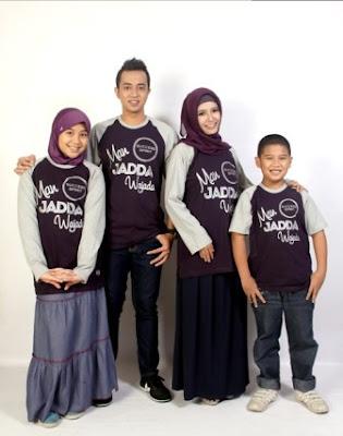 Model Baju Muslim Keluarga 2 Anak Lucu Terbaru
