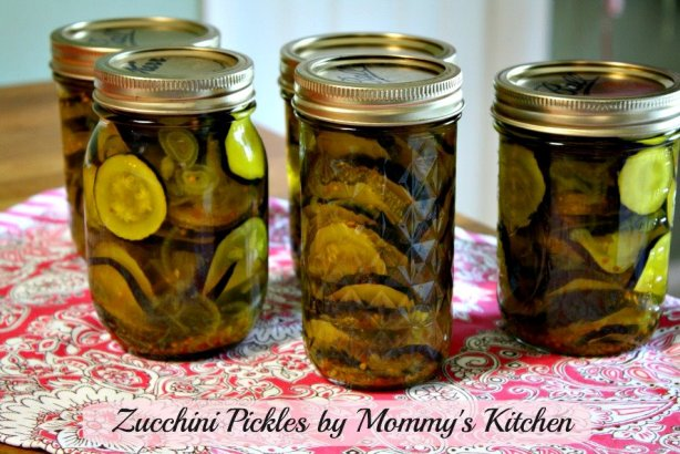 Mommy S Kitchen Recipes From My Texas Kitchen Zucchini Pickles