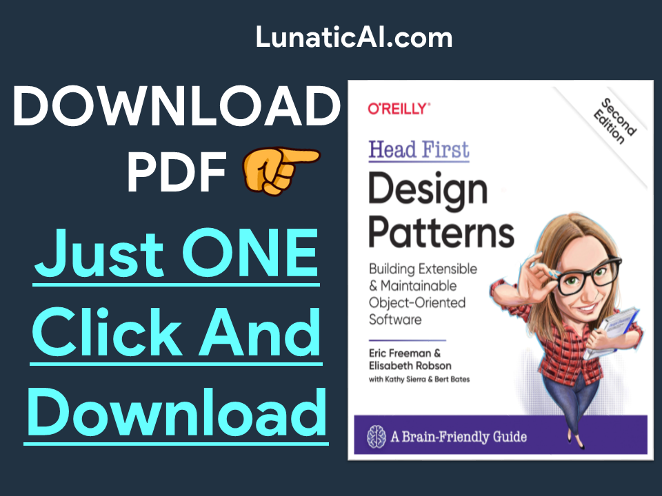 Head First Design Patterns 2nd Edition PDF