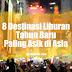 8 Destinasi Liburan Tahun Baru Paling Asik di Asia