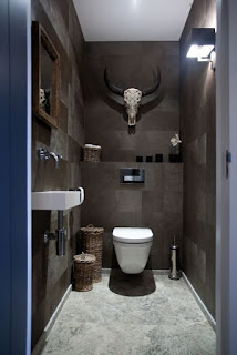 ห้องน้ำโมเดิร์นขนาดเล็ก
